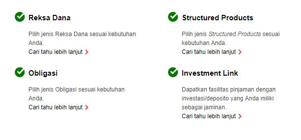 Berbagai layanan investasi dari HSBC