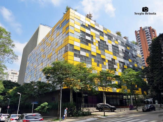 Vista ampla do Edifício Módulo Rebouças - Nubank - Pinheiros - São Paulo