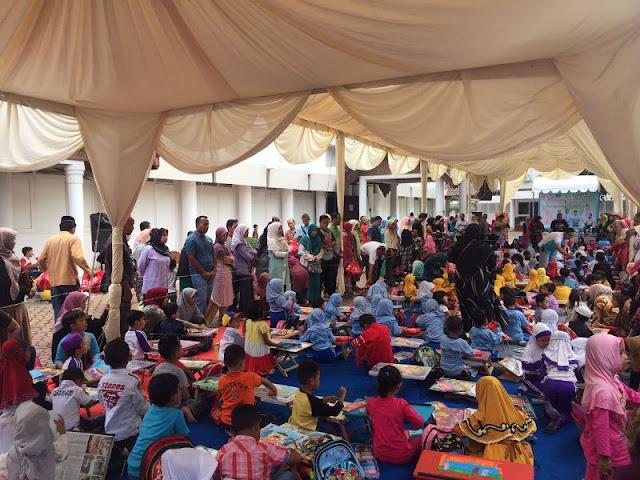Ratusan Anak Ikuti Aneka Lomba di Museum Aceh