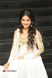 Telugu Actress Mahima Makwana Stills in White Desginer Dress at Venkatapuram Movie Logo Launch  0168.JPG