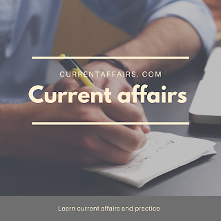 Current affairs one line 25/02/2020