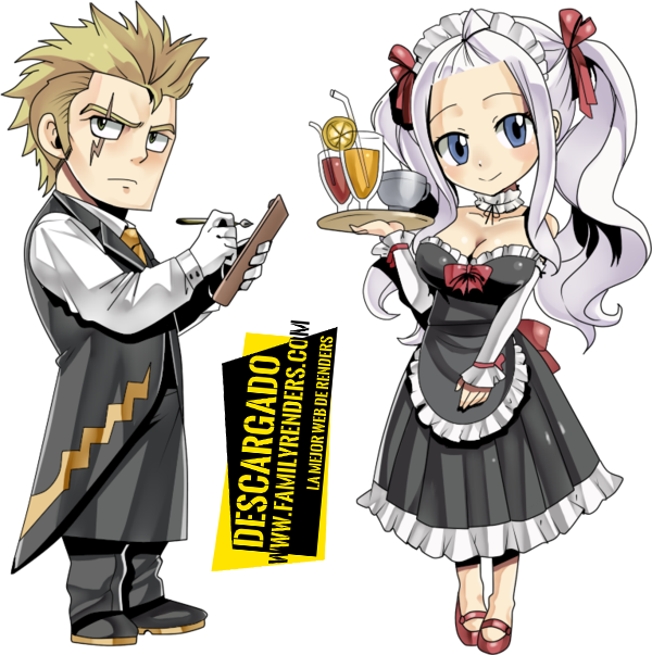 render Mirajane and Laxus MiraXus