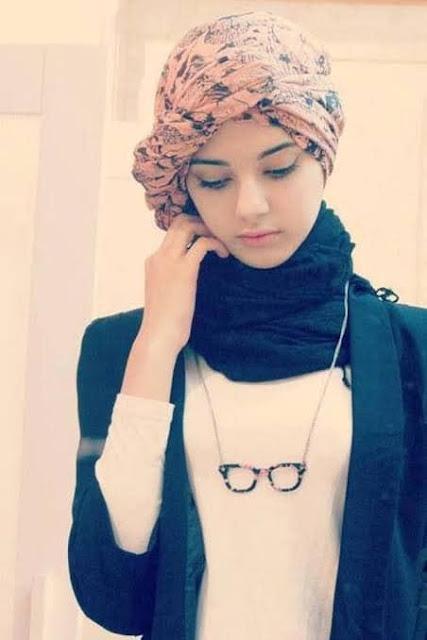 أفكار جميلة لارتداء السكارف والكوفية مع الحجاب