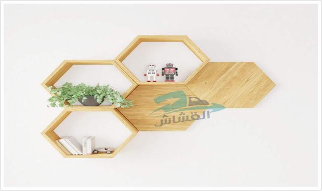 ما هي القدرة والاستخدامات المختلفة لرفوف الحائط الخشبية؟