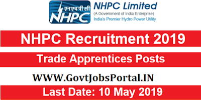 NHPC Recruitment for Trade Apprentices