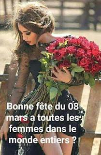 25 image bonne fêtes des femme  Fleur Messages et citations pour la journée des femmes