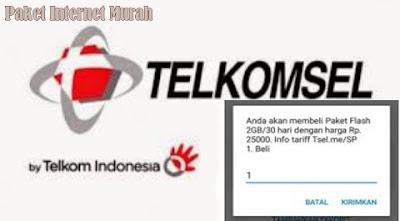 Kuota 1 GB Gratis dari Telkomsel