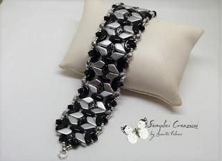 bracciale con Kite beads