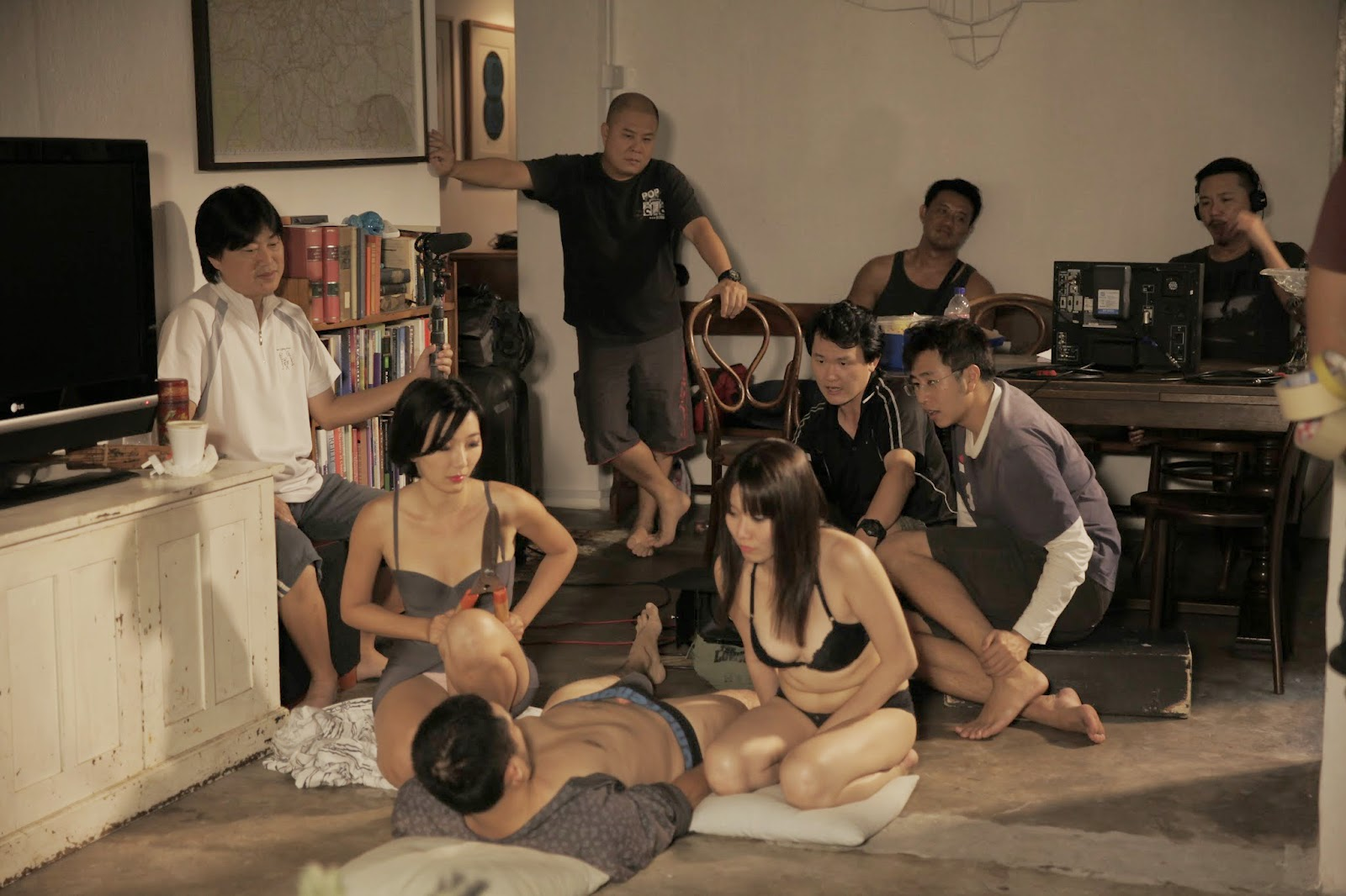 Angeline Ball Sex Scene production talk on 'lang tong' with sam loh   sindie