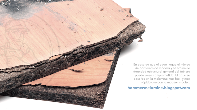 hammer melamine cuidados para evitar dañar melamina