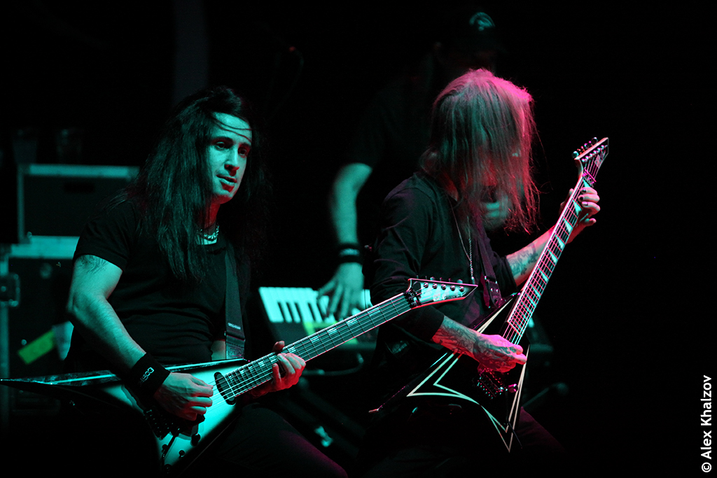 Children of Bodom в клубе Adrenaline Stadium