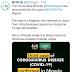 Third case of Coronavirus confirmed in Nigeria