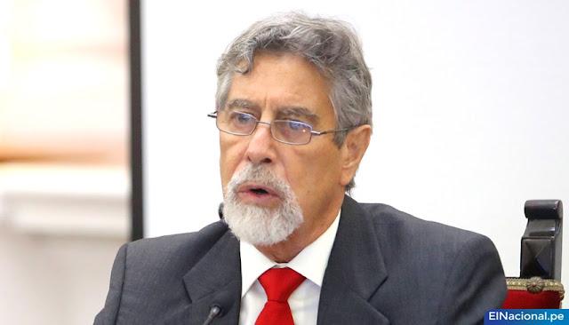 Partido Morado no aceptó renuncia Sagasti