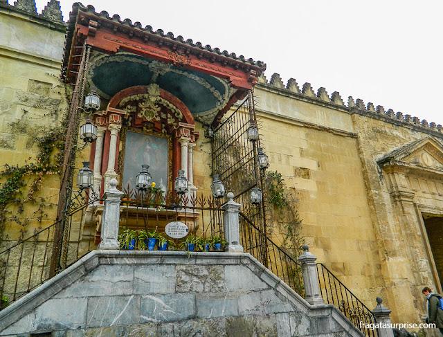 Capela na muralha da Mesquita de Córdoba