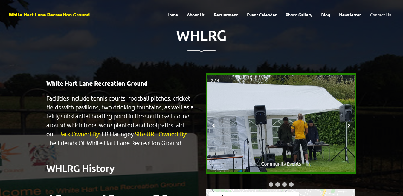 Core PHP Website for Ground