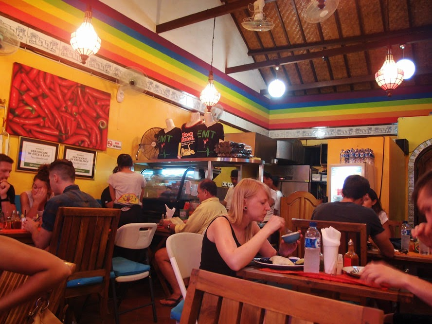Taco Beach Is A Por Warung Like Mexican Restaurant Located On Jalan I In Seminyak Near Rolling Fork It Very Small And Almost Always Crowded