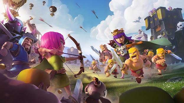 تحميل لعبة كلاش اوف كلانس للاندرويد 2021 أخر اصدار Clash of Clans
