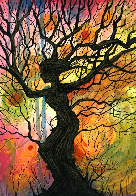 20 Amazing Tree Paintings You'll Love
