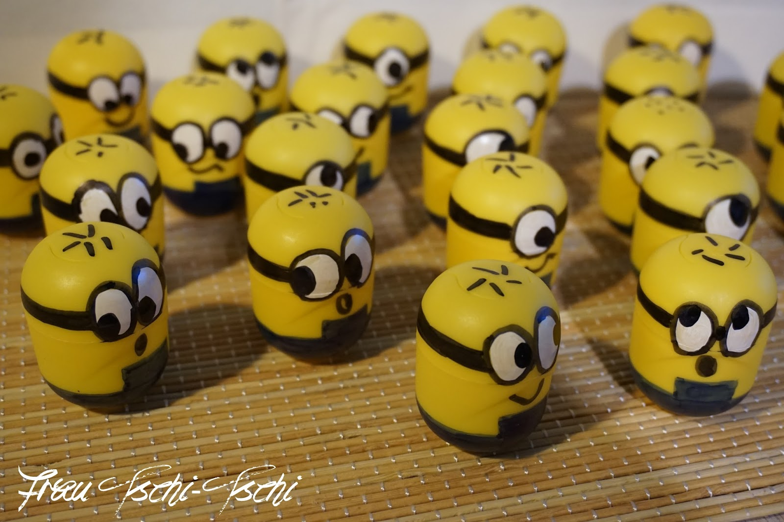 Originelle Adventskalender Selber Machen Frau Tschi Tschi Adventskalender Minion