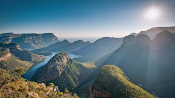 Mountains, Sunlight, Nature, Landscape, Scenery, 4K, #6.958