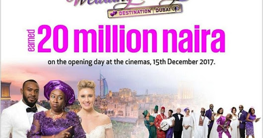 Wow! The Wedding Party2 Earned 20Million Naira on the opening day at the Cinema