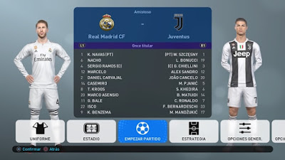 PES 2019 PS4 PeSoccerWorld Option File v2.5 Season 2018/2019