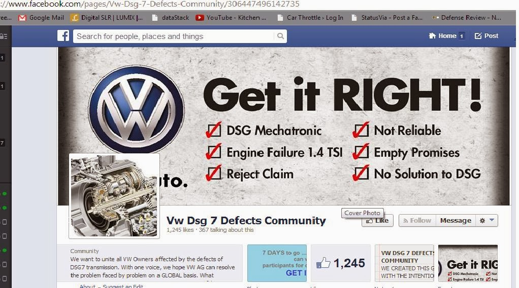 More Volkswagen Tales of Woe - Facebook community survey results and some comments