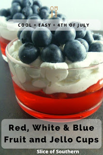 Perfect for the 4th of July and sooo EASY to make! Kids love 'em! - Slice of Southern
