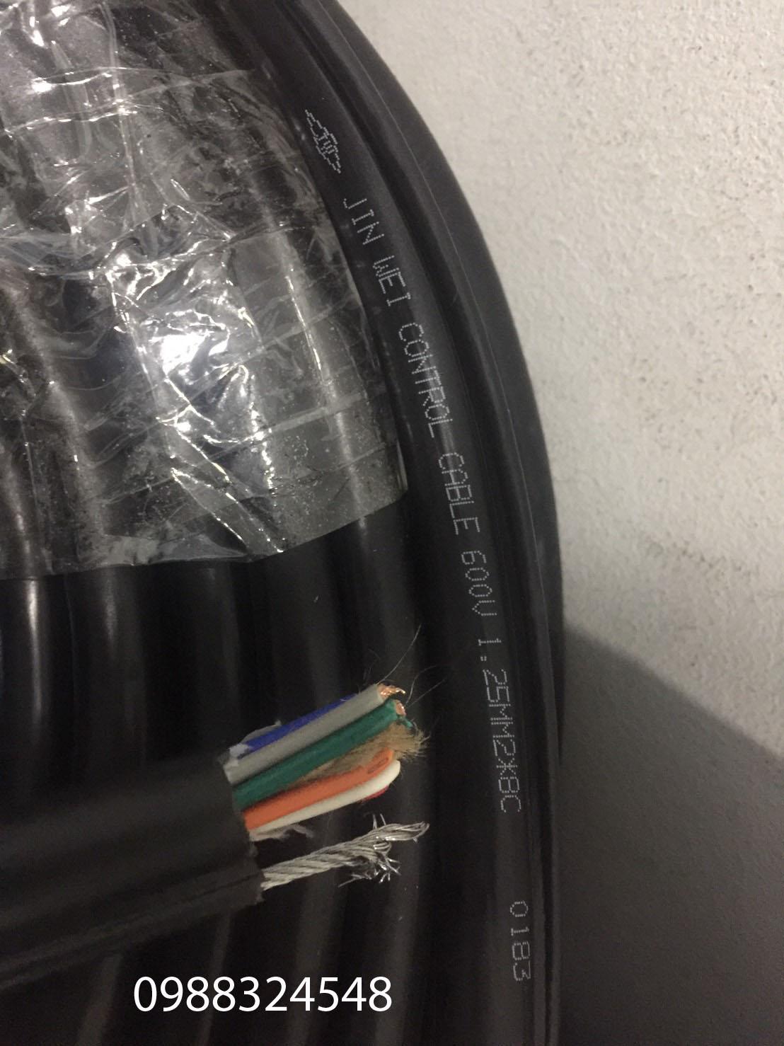 dây cáp điều khiển 8C x 1.25mm2