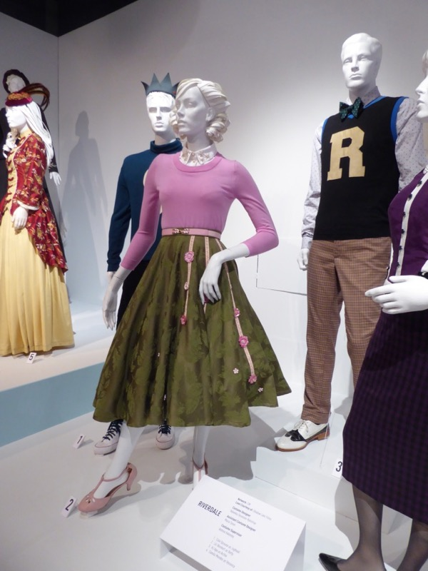 Hollywood Movie Costumes and Props Riverdale season one TV costumes on display... Original film ...
