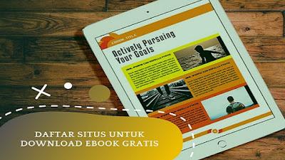 Daftar Situs Untuk Download Ebook Gratis