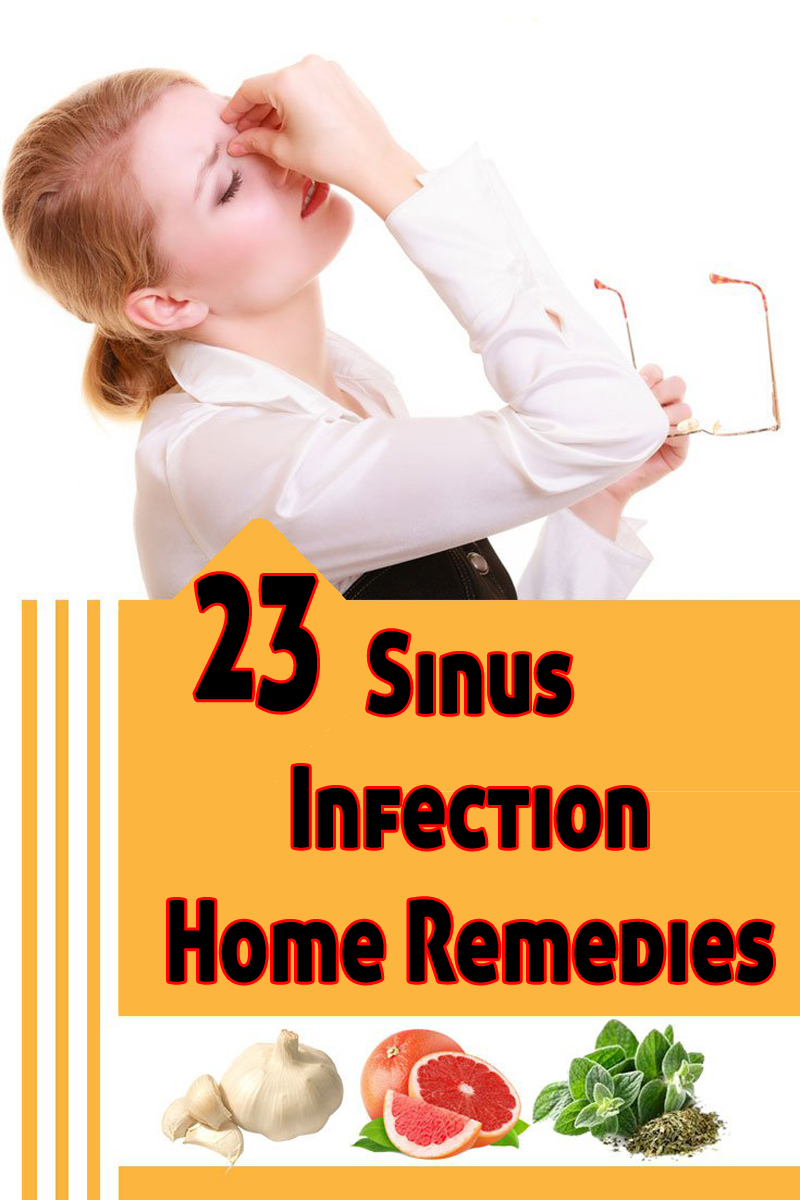 23 Sinus Infection Home Remedies