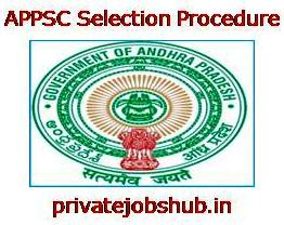 APPSC Selection Procedure