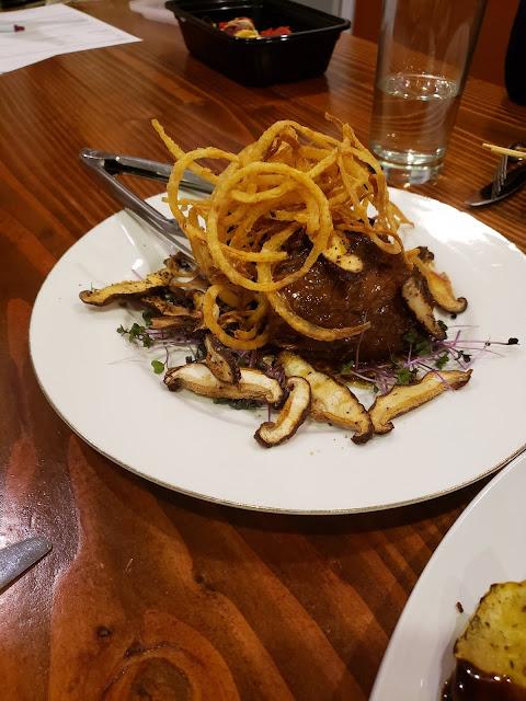 steak entree John Serock Catering