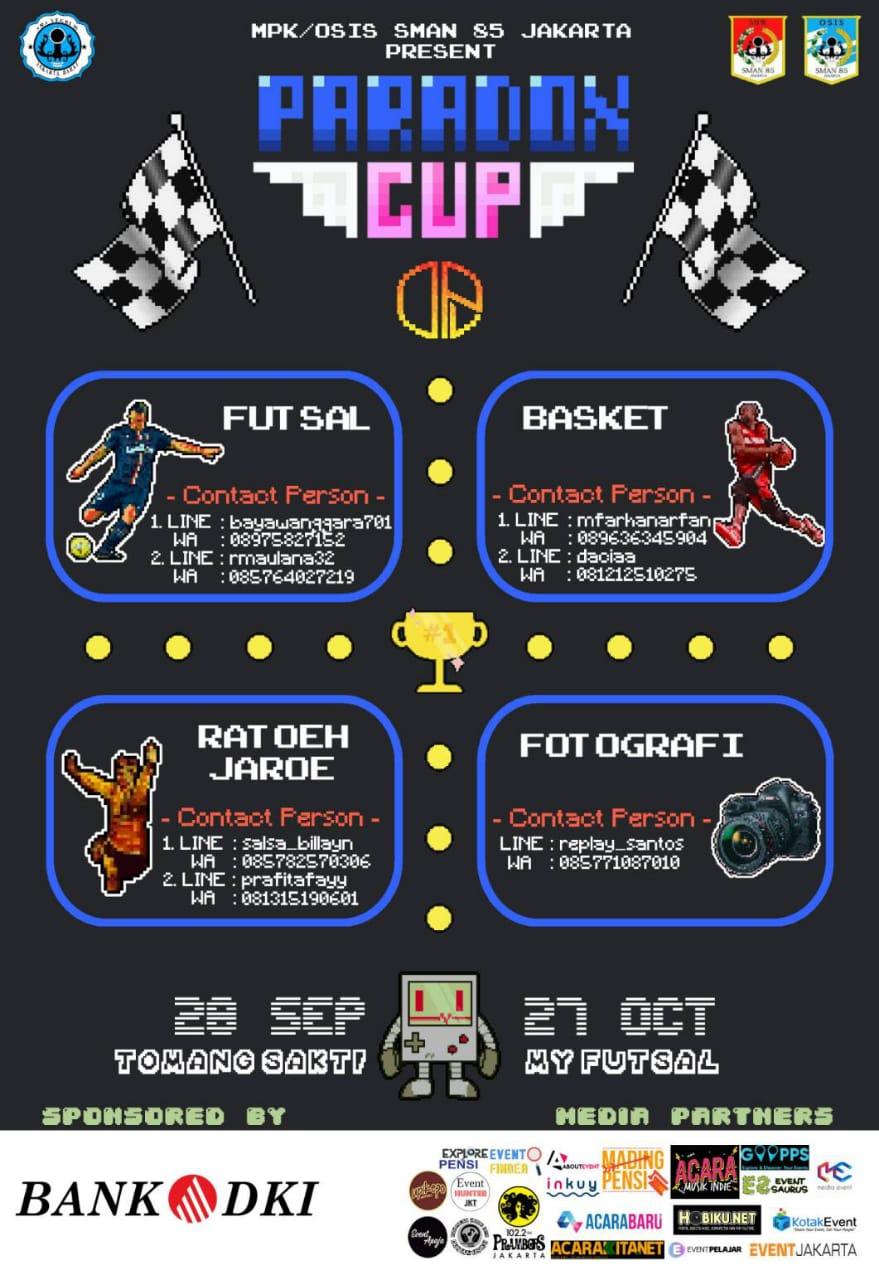 SMAN 85 Jakarta - Paradox Cup