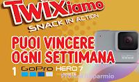 Logo Concorso ''Snack in Action' : vinci 44 GoPro Hero7