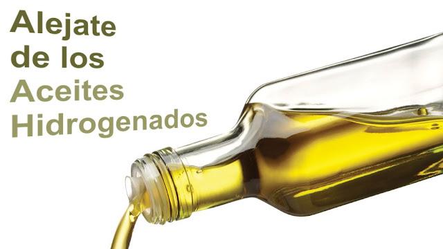 Hígado graso, Aléjate de los aceites hidrogenados