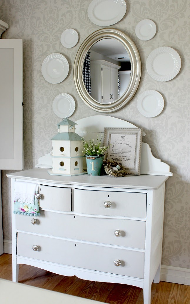 HYMNS & VERSES | COTTAGE STYLE DRESSER MAKEOVER