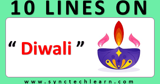 10 Lines On Diwali In English Few Lines About Diwali