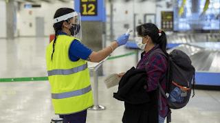 Preguntas del PCR obligatorio con destino España