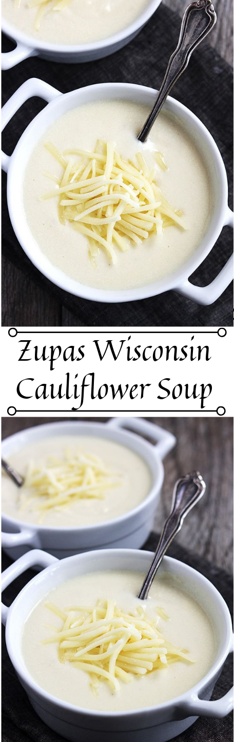 ZUPAS WISCONSIN CAULIFLOWER SOUP #healthydiet #whole30 #cauliflower #soup #easy
