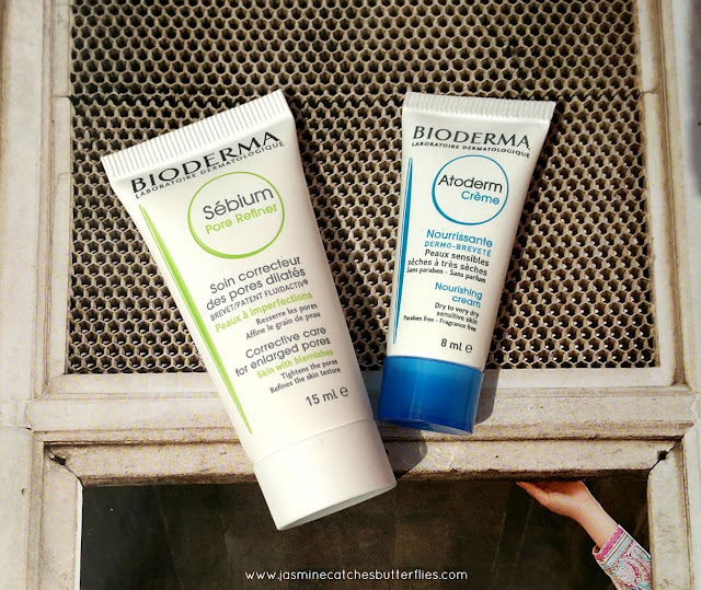 Bioderma Sebium Pore Refiner and Atoderm Creme