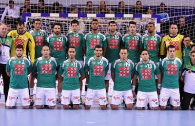 توقيت مباريات المنتخب الوطني الجزائري في كاس العالم لكرة اليد 2021