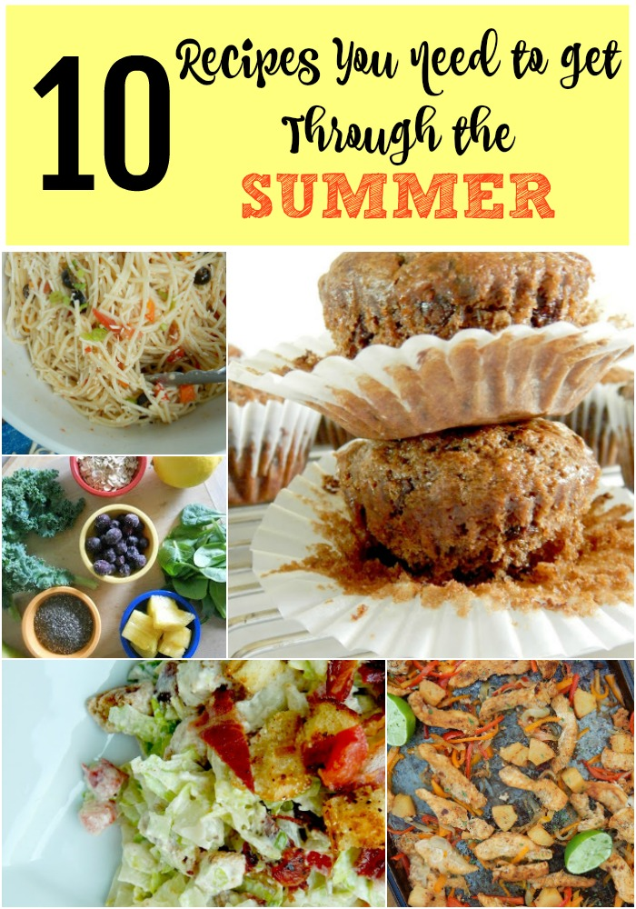 Ally's Sweet and Savory Eats: 10 Recipes You NEED to Get Through Your Summer