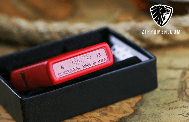 Zippo Màu Đỏ - MS01 Tại Hà Nội | Zippo | Zippo Usa