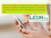 Produk Leon Pulsa Magetan yang Kebanjiran Pembeli
