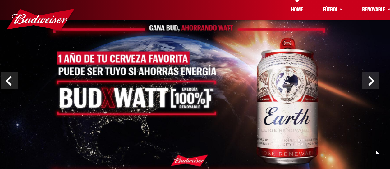 Promoción Budweiser 2021