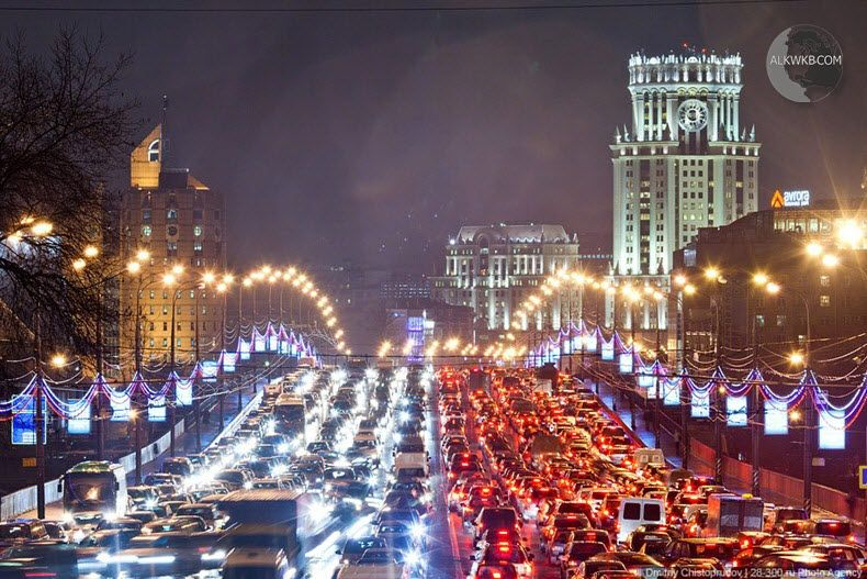 Moscow Russia Traffic