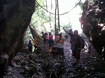 Mountaineering adventure to Bagsak Falls
