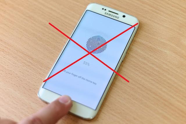 iPhone 8 No Fingerprint Scanner